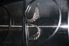 Элемент кованого декора ворот