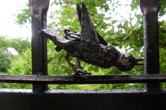 Кованая птица