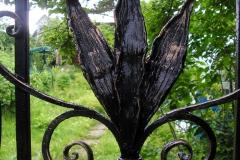 Элемент декора кованой калитки