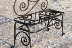 Кованая скамейка