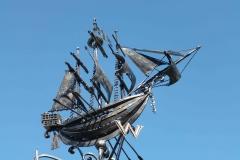 Кованый кораблик